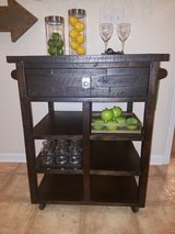 Jofran kitchen cart & wine rack in Fort Benning, Georgia