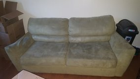 Couch with fold out bed and matching recliner in Beaufort, South Carolina