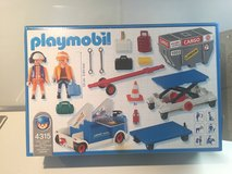 PLAYMOBIL , Cargo lifter and stairs for the airport in Ramstein, Germany