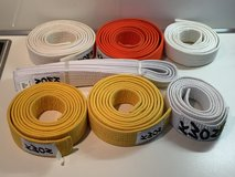 Karate belts in Ramstein, Germany