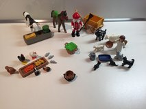 PLAYMOBIL Christmas Set with Santa Clause, Angel and lots of Animals in Ramstein, Germany