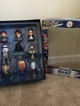 NEW COMPLETE DISPLAY MCDONALD'S STAR WARS THE CLONE WARS in Naperville, Illinois