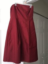*REDUCED* Ann Taylor 100% silk brand new  red strapless formal gown ball wedding 4 in Beaufort, South Carolina
