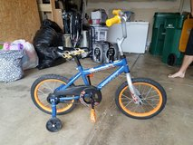 Boys Bike with training wheels in Bolingbrook, Illinois
