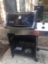 Weber gas grill no tank in Fort Sam Houston, Texas