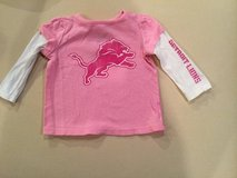 Detroit Lions shirt...size 6-12 months in Chicago, Illinois