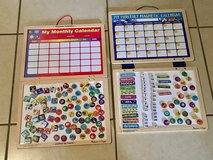 2 Melissa and Doug Magnetic Dry Erase Calendars w/ Lots of Magnets EUC in Vacaville, California