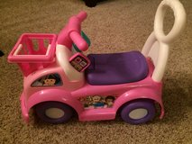 Fisher Price Pink Ride On Toy/Car-EUC!! in Bolingbrook, Illinois