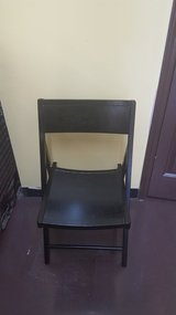World Market Expresso Folding Chair in Kingwood, Texas
