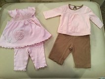 Pant sets...size 3-6 months in Shorewood, Illinois