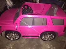 Pink Chevrolet Tahoe Ride On Toy for Kids in Pasadena, Texas