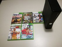 Xbox 360 with games in Vicenza, Italy