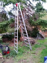 Werner P412 12 ft Type IA Aluminum Platform Ladder in Fort Lewis, Washington