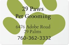 29 Paws Pet Grooming in 29 Palms, California