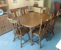 Dinning Room Table With 6 Chairs in Camp Lejeune, North Carolina
