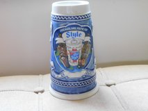 1982 Blue Old Style Beer Stein in Algonquin, Illinois