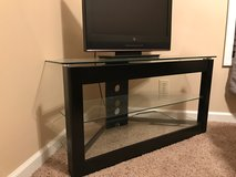 Glass and Metal TV Stand in Fort Campbell, Kentucky