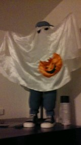 cute Halloween ghost in Chicago, Illinois