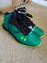 Under Armour basketball gymshoes new in Naperville, Illinois