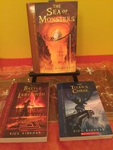 Percy Jackson chapter books 2, 3 and 4 by Rick Riordan BRAND NEW in Morris, Illinois
