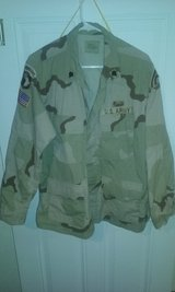 Desert camo jacket in Fort Campbell, Kentucky
