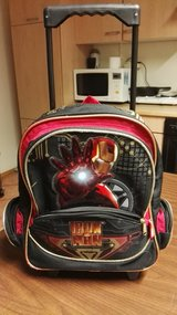 Suitcase/backpack IRONMAN for a boy in 3-5 Years old in Ramstein, Germany