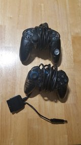 2 PS3 wired controllers in Byron, Georgia