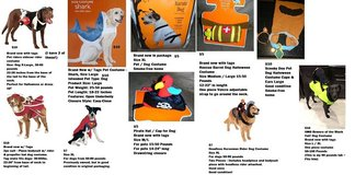 Dog Pet Halloween Costume Lot 10 Different Costumes From $5 - $10 Each Funny Dress-Up in Houston, Texas