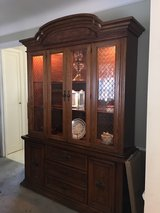 China cabinet - contents not included in Cleveland, Ohio