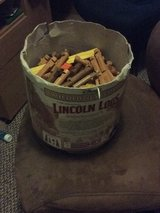 Lincoln logs in Alamogordo, New Mexico