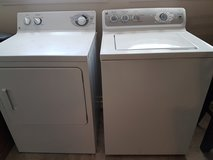 GE matching washer and dryer for sale in DeRidder, Louisiana
