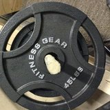 Olympic weights and dumbells in Beaufort, South Carolina