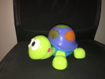 Cute ELC Fisher Price Walking Turtle toy with light in Ramstein, Germany