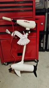 Island Hopper Trolling Motor + Batter and Charger in Dover AFB, Delaware