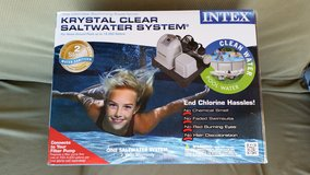 New  - Krystal Clear Saltwater System  - with additional 2-year replacement plan through Walmart in Yucca Valley, California