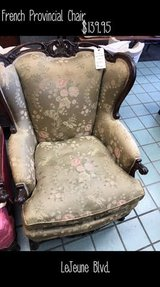 Beautiful French Provincial Chair in Cherry Point, North Carolina