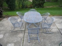 Patio Furniture  Wrought Iron REDUCED in Glendale Heights, Illinois