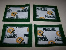 NFL   Green Bay Packer Coasters - NEW  * LOT of 4   ** Great Stocking Stuffer in Brookfield, Wisconsin
