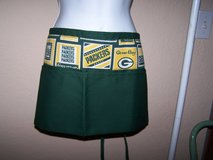 Green Bay Packer APRON * Bartender or Waitress Style ** Nice Pockets  NFL in Brookfield, Wisconsin
