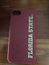 FSU rubber iPhone 5 case in Oceanside, California