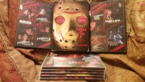 Horror movie dvD collection in Conroe, Texas