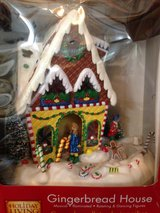 Xmas Gingerbread House, Santa Bear and Winnie the Pooh in Houston, Texas