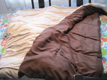 Twin XL comforter bedding set for college dorm, brown and tan in Kingwood, Texas