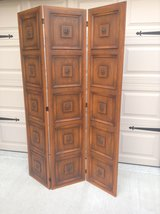 Antique Room Divider - Real Wood *Beautiful piece, photo doesn't do it justice*! in Rolla, Missouri