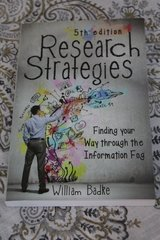5th Edition Research Strategies by William Badke in Travis AFB, California