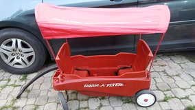 Radio flyer wagon with canopy in Cleveland, Texas