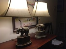 ELEPHANT LAMPS with shades in Wilmington, North Carolina