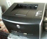 Dell 1720 black Laser printer, small office size with spare toner in Fort Lewis, Washington