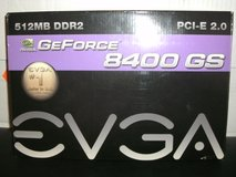 EVGA NVIDIA GeForce 8400 GS (512P1N724LR) 512 MB DDR2 SDRAM PCI-E in Camp Lejeune, North Carolina