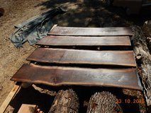 8 foot long black walnut live edge slabs in Cadiz, Kentucky